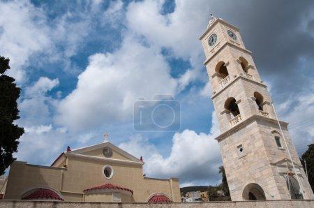 Church in Ermoupolis (Greece)