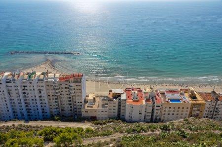 Skyline of Alicante (Spain)