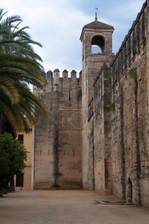 Walls of the Alcazar of Cordoba (Spain)