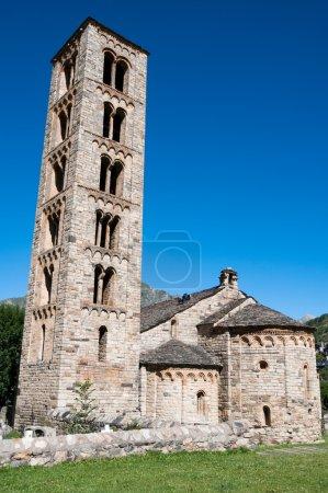 Photo pour Église romane de Sant Climent de Taull, Catalogne (Espagne) ) - image libre de droit