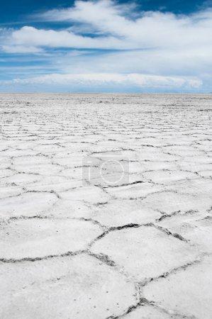 Photo pour Salar de Uyuni, Appartement de sel en Bolivie - image libre de droit