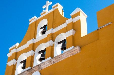Belfry in Campeche (Mexico)