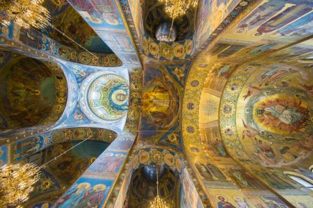 Church of the Savior on Spilled Blood in St. Petersburg (Russia)