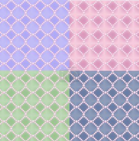 Pearl seamless pattern