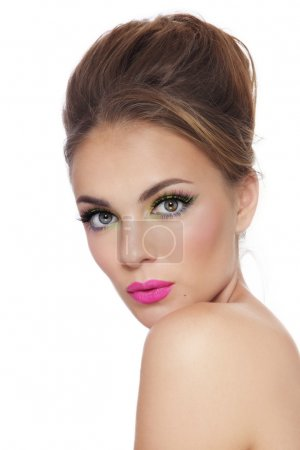 Girl with fresh make-up