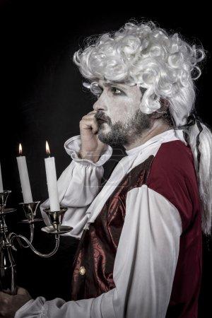 Gentleman rococo era wig...