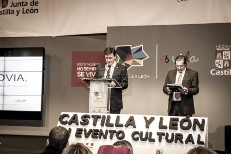 Presentation at FITUR 2014 The first international festival of Iberian wolf