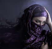 Exotic arab woman