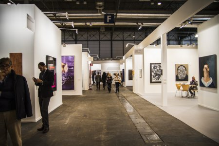 The contemporary art fair ARCO