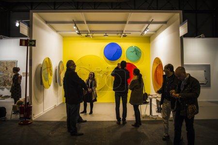 The contemporary art fair ARCO