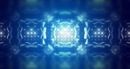 Abstract fractal texture