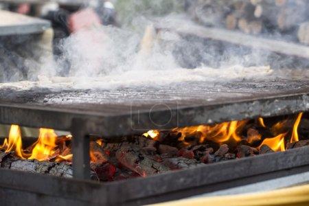 Barbecue in fair