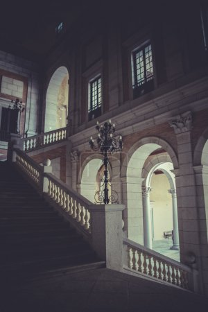 Indoor palace, Alcazar de Toledo