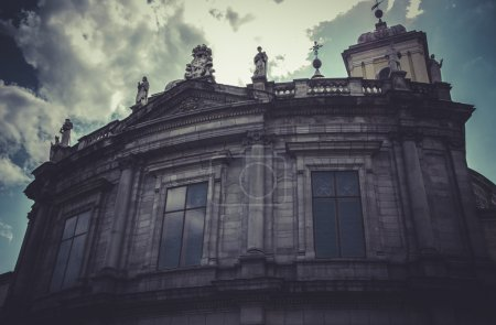 Church, Image of the city of Madrid