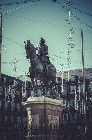 Plaza Mayor, Image of the city of Madrid