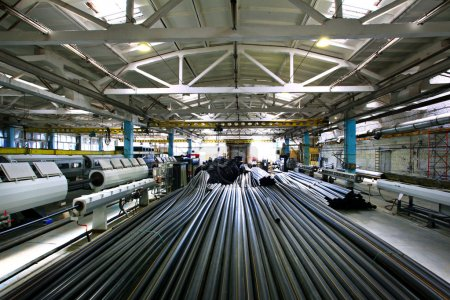Plumbing pipes factory