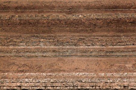 Photo pour Couches de texture du sol - image libre de droit