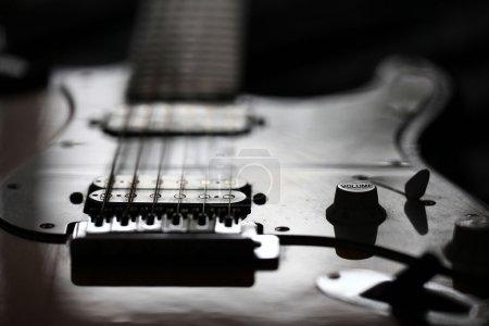 Photo pour Guitare électrique rock - image libre de droit