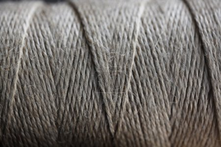 Texture of a coil of rope