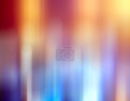 Photo pour Bokeh ville lumières arrière-plan flou effet - image libre de droit