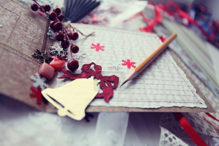Christmas cards scrapbooking