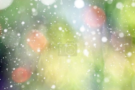 Photo pour Fond vert flou - image libre de droit