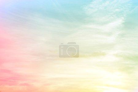 Photo pour Floue rose bleu jaune dégradé de fond - image libre de droit