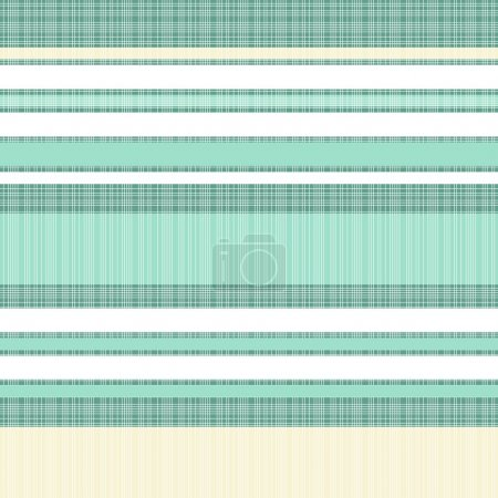 Turquoise white beige thin stripes retro traditional geometric pattern