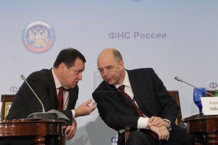 Andrey Makarov and Anton Siluanov