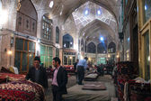 People in a bazaar