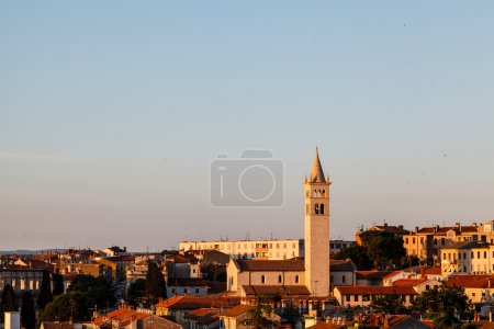 Panoramic View on the City of Pula in Istria, Croa...