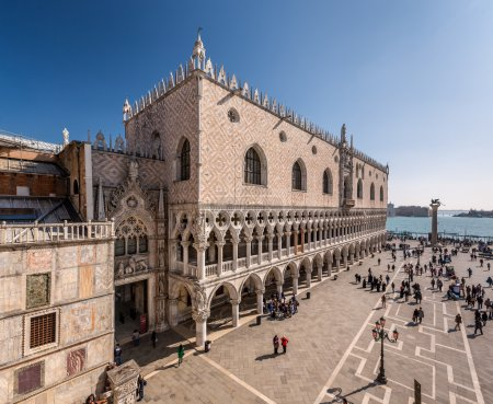 View on Piazza San Marco and Doge's Palace from San Marco Cathed