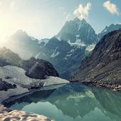 """Постер, картина, фотообои """"Высота горы"""""""
