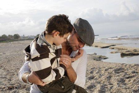 Photo pour Père et fils - image libre de droit