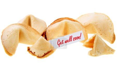 GET WELL SOON! - backlit fortune cookies