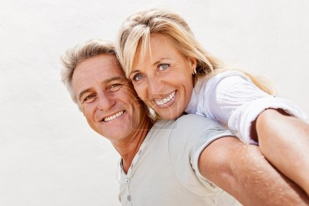Photo for Portrait of a happy mature couple. - Royalty Free Image