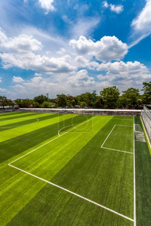 Photo for Soccer Field - Royalty Free Image