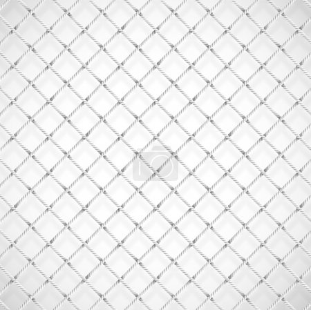 Illustration for Background with soccer goal net. Eps 10 - Royalty Free Image