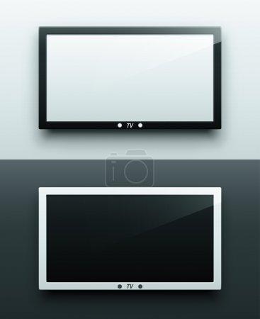 TV screen hanging
