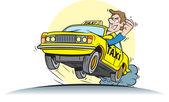 řidič taxi