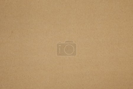 Photo for Clean brown parcel packing paper background texture - Royalty Free Image