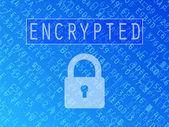Encrypted Data Background