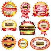 Burger Labels