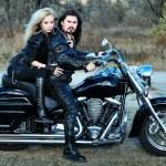 Couple on a bike