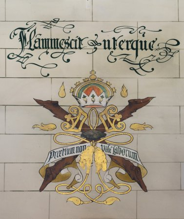 Flammescit Uterque, Coat of Arms at Ghent Belfry.