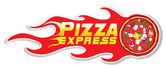Pizza express customize with flames
