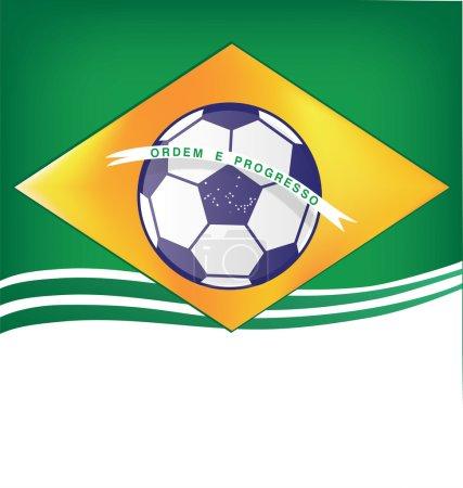 Brasil background soccer 2014