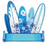 Surfboard background 2