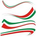 Set italian flag...