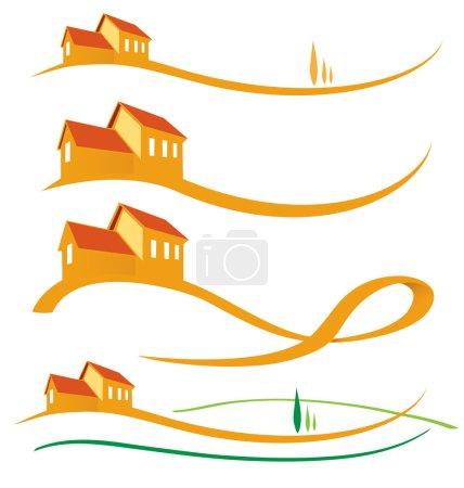 LANDSCAPE HOUSE SET